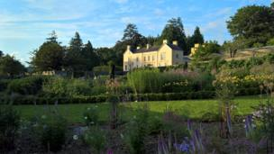 Aberglasney Gardens in Carmarthenshire