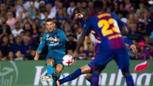 Ronaldo shooting
