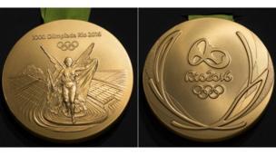2016 medalla olímpica