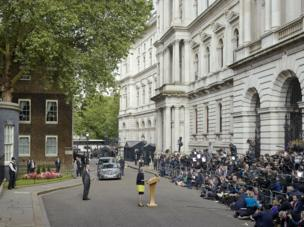 Prime Minister Theresa May, Downing Street, London, 13 July 2016
