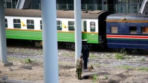 Ulinzi umepewa kipao mbele katika vituo vya gari moshi Nairobi na Mombasa.