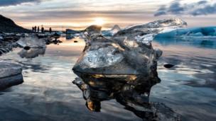 كتلة من الجليد
