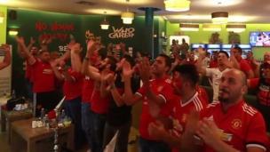 Manchesta United fans