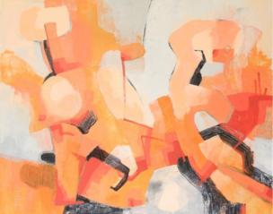 Painting by Jasmine Farrow