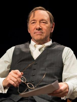 Kevin Spacey in the theater