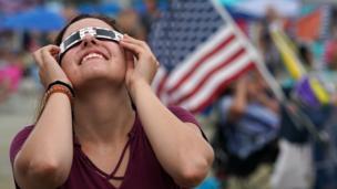 Amerika serikat, gerhana matahari,
