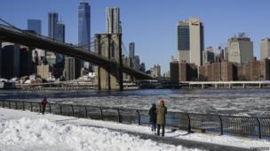 न्यूयॉर्क शहर, 7 जनवरी