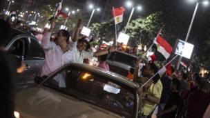 احتفالات المصريين بالتأهل لكأس العالم بروسيا 2018