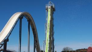 World's tallest water slide