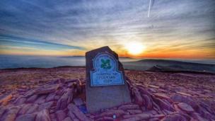 Summit of Pen y Fan in the Brecon Beacons