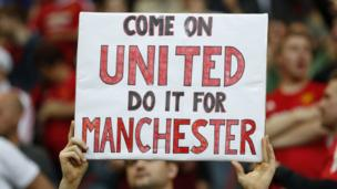 Sign in support of Manchester