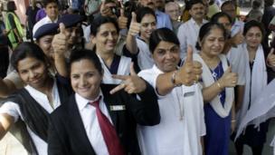 रेलवे महिला कर्मचारी