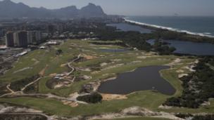 Олимпийское поле для гольфа