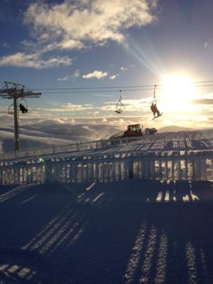 Chair lift on The Lecht