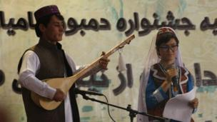 جشنواره دمبوره بامیان
