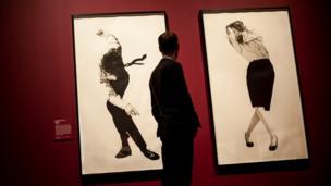 نمایی از نمایشگاه در موزه بریتانیا