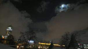 Луна с улицы Бахрушина