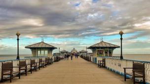 Mel Bloor-Steen captured this moody picture of Llandudno Pier, Conwy