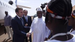 Les troupes françaises sont depuis quatre ans au Mali dans le cadre de la lutte contre les djihadistes.