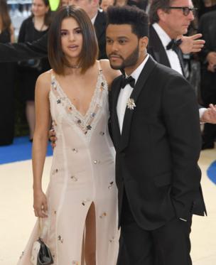 Селена Гомес и певец The Weeknd