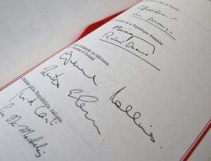 Paris diplomacy exhibition: Maastricht treaty