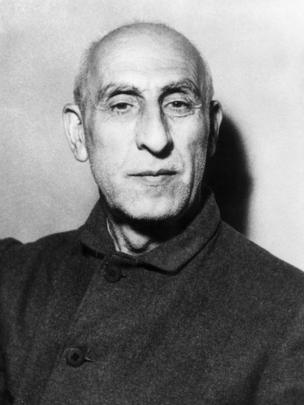 Iranian statesman Mohammed Mossadeq (1880 - 1967), the President of Iran from 1951 - 1953.