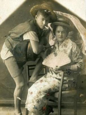 Apasha and Apashka, Leningrad fashion icons