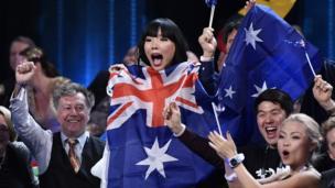 Australia's Dami Im