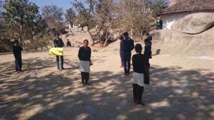 School children in Bakhel