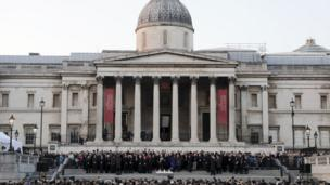 London, Trafalgar Square, Westminster