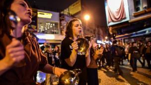 İstanbul'daki 'Hayır' destekçilerinin protestolarına tencere ve tavalar eşlik etti