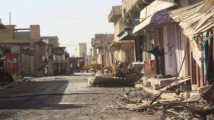 بلدوزر مفخخ يعود لتنظيم الدولة الإسلامية