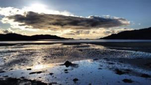 Low tide at Dorlin, Acharacle