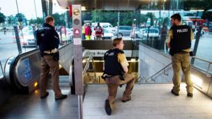 Policía en búsqueda