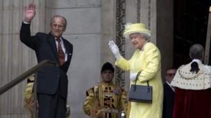 Duke of Edinburgh and the Queen