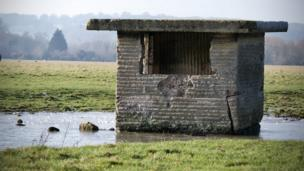 Pillbox on Port Meadow