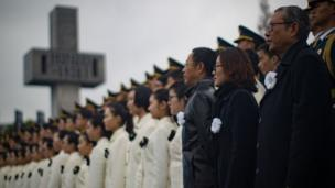 南京大屠殺死難者國家公祭儀式現場(中新社圖片13/12/2016)