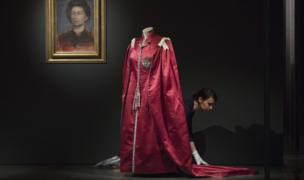 Outfits in the exhibition