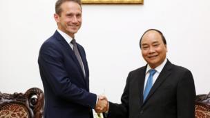 Bộ trưởng Ngoại giao Đan Mạch hội kiến Thủ tướng Nguyễn Xuân Phúc
