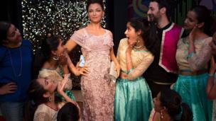 ऐश्वर्या राय बच्चन की मोम की प्रतिमा