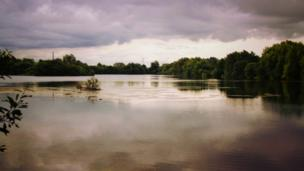 Witney/Ducklington Lake, captured by 12-year-old Tom Melvin.