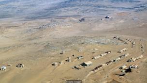 Kolmanskop qəsəbəsi