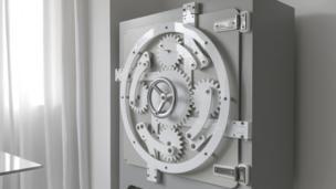 Scott Jarvie's lockable safe cabinet