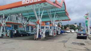 Imwe mu ma station yo mu gisagara ca Bujumbura