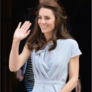The Duchess of Cambridge leaves Spencer House