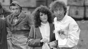 Gilda Radner and Gene Wilder in Hanky Panky
