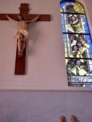 Um crucifixo