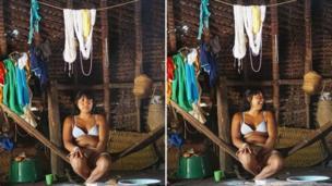 ब्राज़ील के एमेजॉन जंगल में रहने वाली मेतो