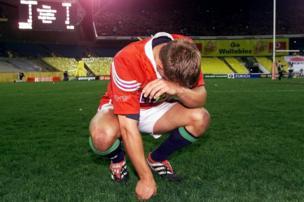 Jonny Wilkinson 3rd Test Sydney Dejection