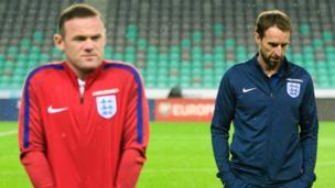 LOW: Rooney is dropped from the England squad by new manager Gareth Southgate for matches against Scotland and France in June 2017.